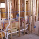 Plumbing in New construction